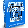 Activities for Seniors PLR Articles