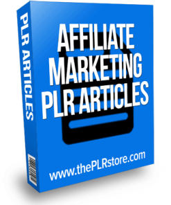 affiliate marketing plr articles