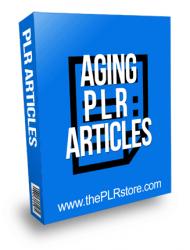 Aging PLR Articles