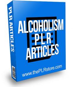 Alcoholism PLR Articles
