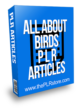 All About Birds PLR Articles