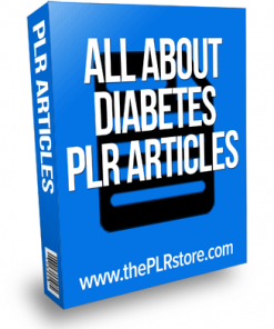 all about diabetes plr articles