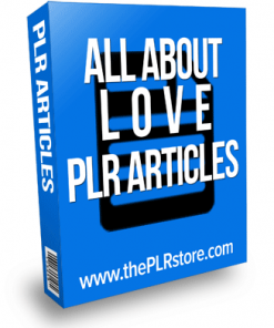 all about love plr articles