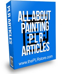 All About Painting PLR Articles