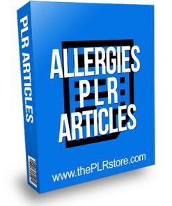 Allergies PLR Articles
