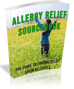 Allergy Relief Sourcebook PLR Ebook