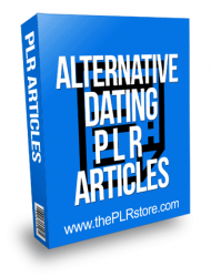 Alternative Dating PLR Articles