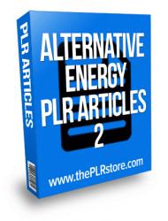 alternative energy plr articles alternative energy plr articles Alternative Energy PLR Articles 2 with Private Label Rights alternative energy plr articles 2 190x250