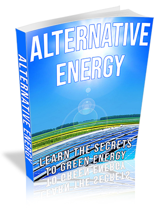 Alternative Energy PLR Ebook