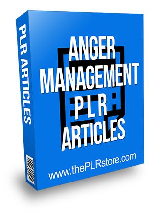 Anger Management PLR Articles
