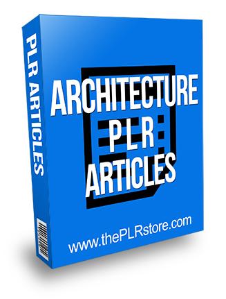 Architecture PLR Articles