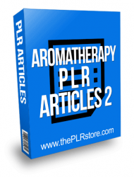 Aromatherapy PLR Articles 2