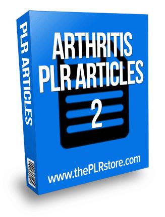 arthritis plr articles