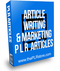 Article Writing and Marketing PLR Articles