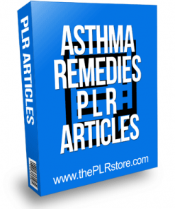 Asthma Remedies PLR Articles