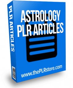 astrology plr articles