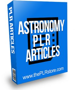 Astronomy PLR Articles