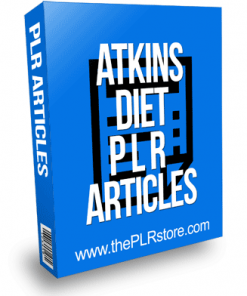 Atkins Diet PLR Articles