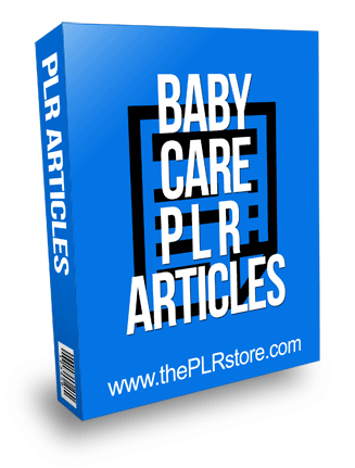 Baby Care PLR Articles