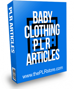 Baby Clothing PLR Articles