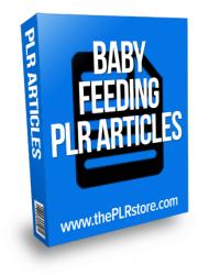 baby feeding plr articles