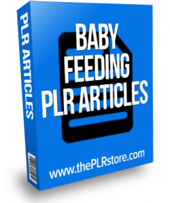 baby feeding plr articles