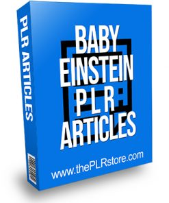 Baby Einstein PLR Articles