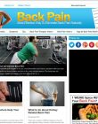Back Pain PLR Website with Private Label Rights back pain plr website private label rights cover 110x140