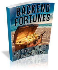 Backend Fortunes PLR Ebook