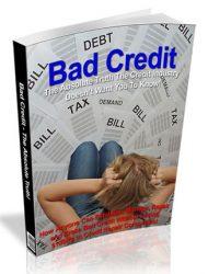 Bad Credit PLR eBook