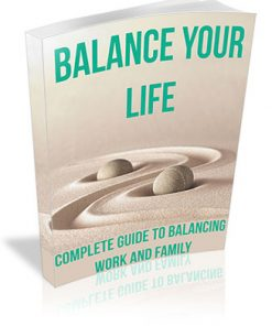 Balance Your Life PLR Ebook