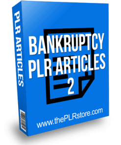 Bankruptcy PLR Articles 2