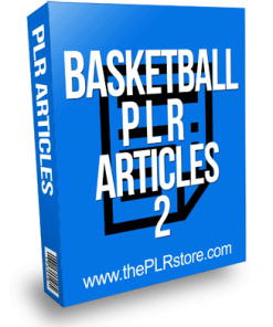 Basketball PLR Articles 2