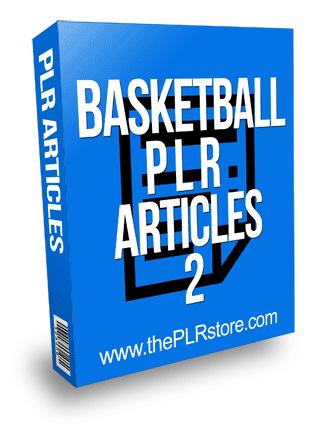 Basketball PLR Articles 2