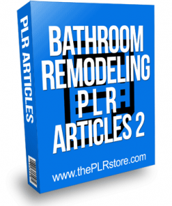 Bathroom Remodeling PLR Articles 2
