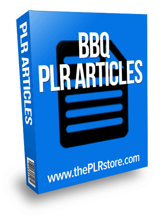 bbq plr articles with private label rights