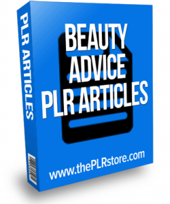 beauty advice plr articles