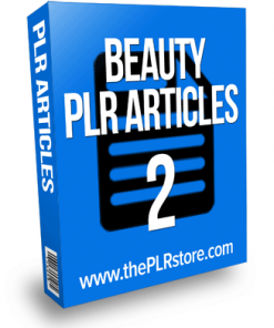 beauty plr articles 2
