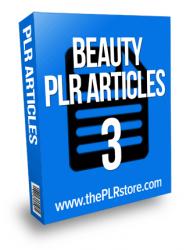 beauty plr articles 3 beauty plr articles Beauty PLR Articles 3 with private label rights beauty plr articles 3 190x250