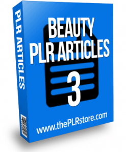 beauty plr articles 3