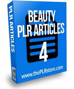 beauty plr articles 4