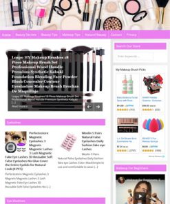Beauty PLR Website Amazon Store with Private Label Rights