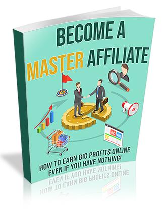 Become a Master Affiliate PLR Ebook