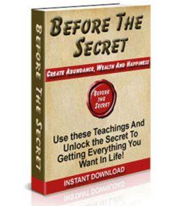 before the secret plr ebook