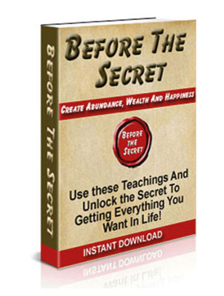 before the secret plr ebook