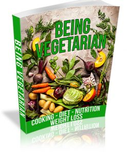 Being Vegetarian PLR Ebook