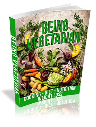 Being Vegetarian PLR Ebook