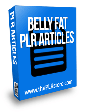 belly fat plr articles