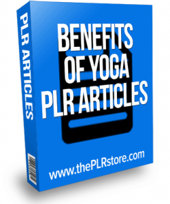 benefits of yoga plr articles