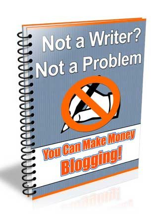 Blog Without Writing PLR Ebook